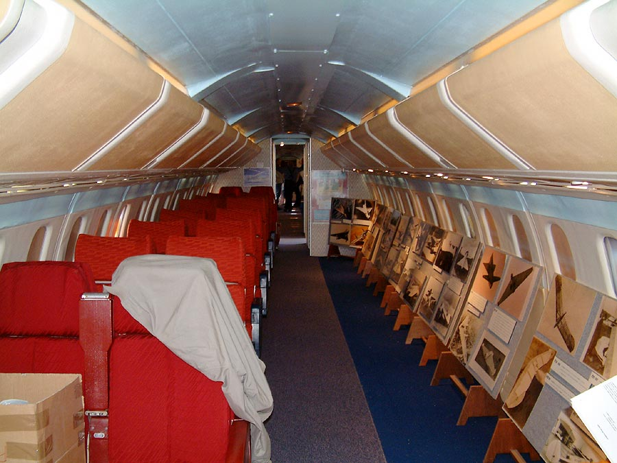 CONCORDE SST : DETAILED PICTURES : 02 Interior