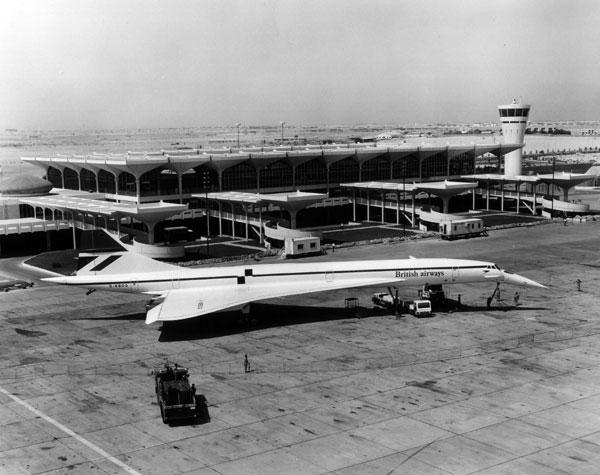 Pesawat Concorde pun pernah mendarat di Kemayoran | (foto ilustrasi ) concordesst.com