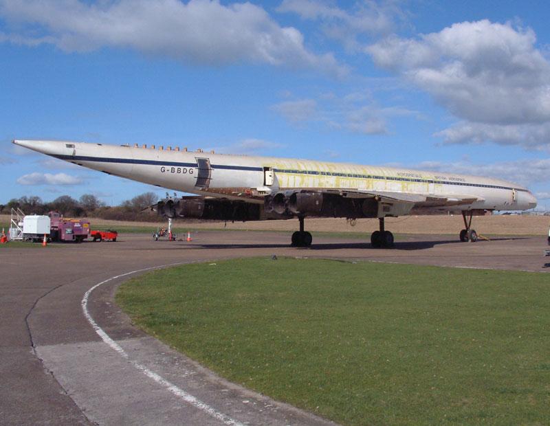 Concorde At Brooklands Museum Multi Media