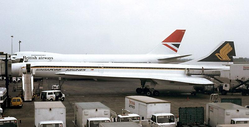 CONCORDE SST : Singapore Concorde Services