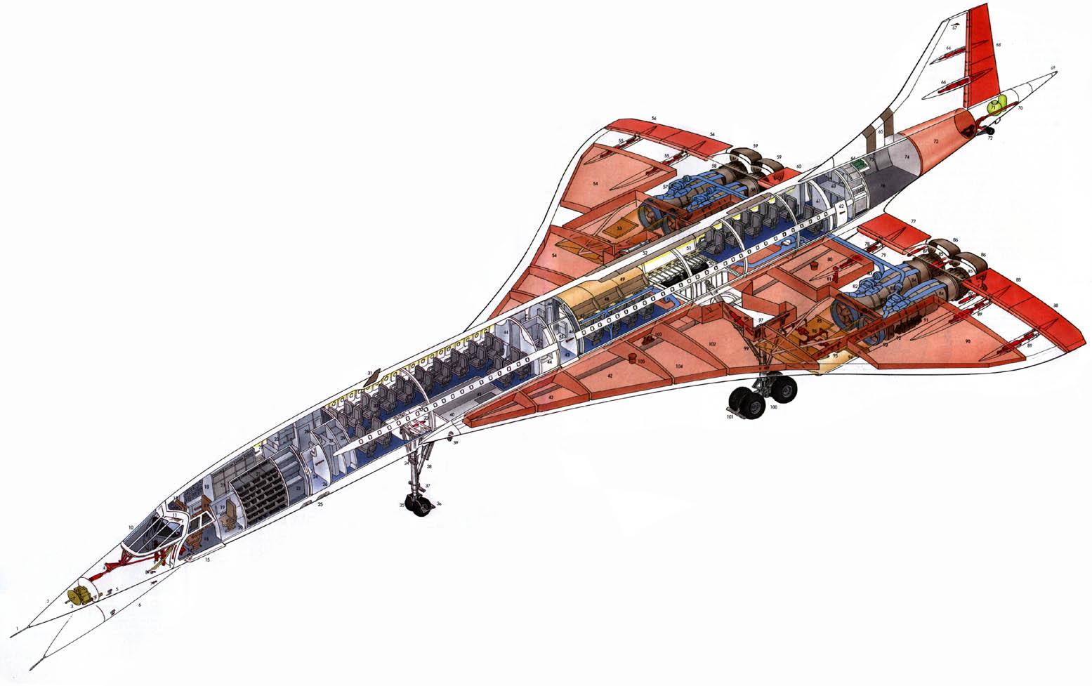 Concorde Sst Inside Concorde Hi Res