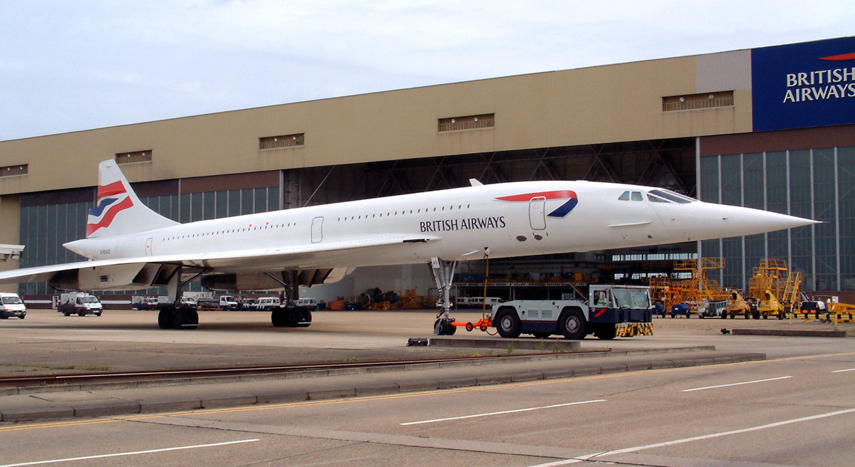 CONCORDE SST : BRITISH AIRWAYS FLEET : 210