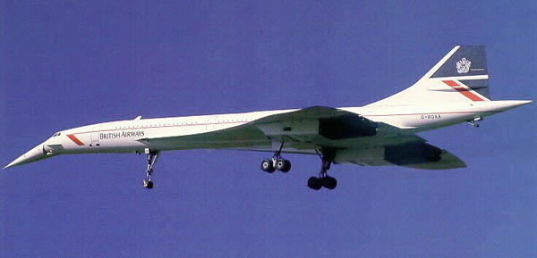 CONCORDE SST : BRITISH AIRWAYS FLEET : 206