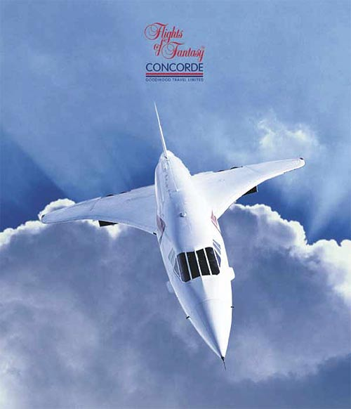 Flight And Car Packages: CONCORDE SST : FLY Concorde