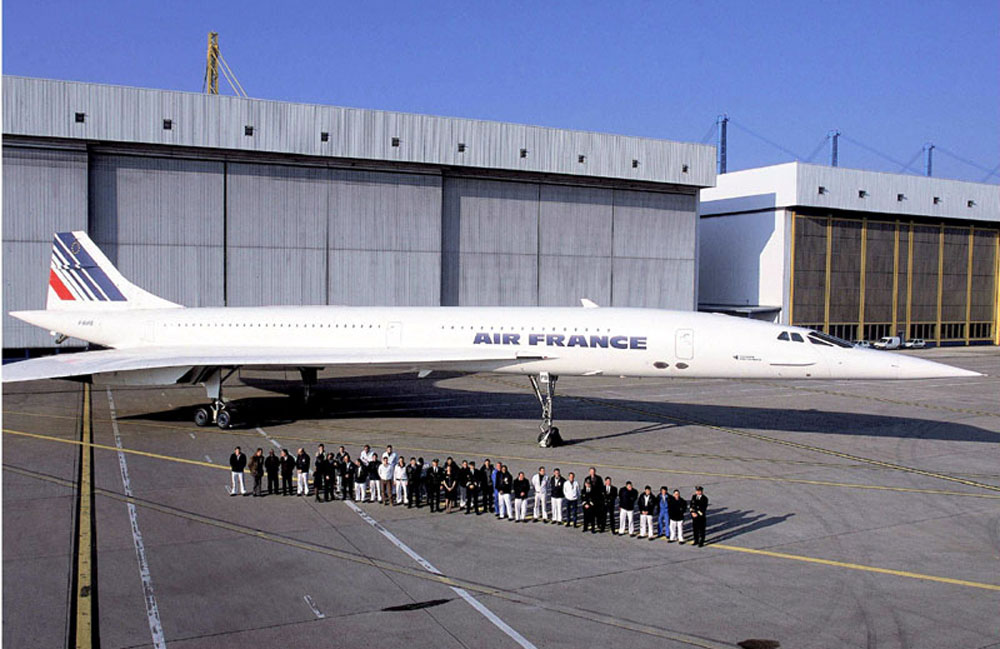 Concorde sst return to flight return to service - Location hangar paris ...