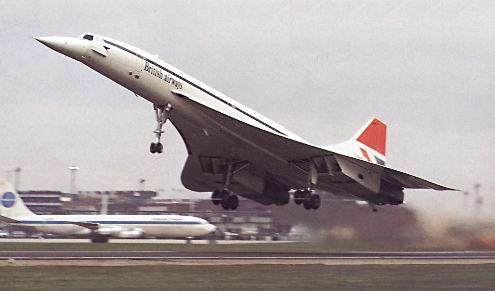 Image result for concorde begins service in 1976